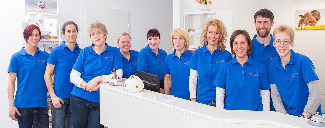 Tierarztpraxis Reimlingen Teamfoto - Wir stellen uns vor