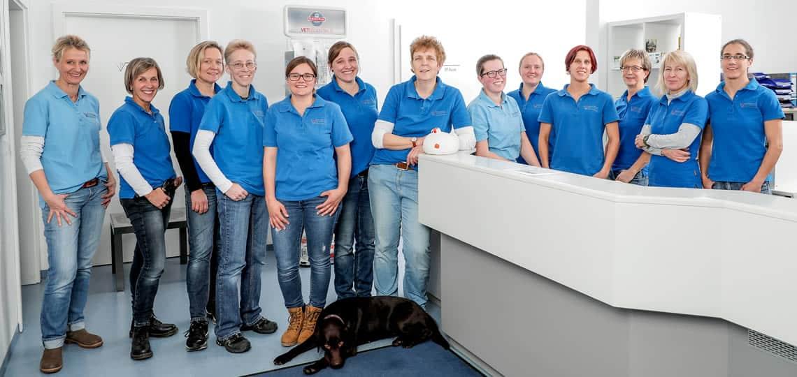 Tierarztpraxis Reimlingen Teamfoto